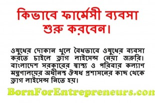 How to Start Pharmacy Business in Bangladesh?